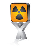 Radioactivity danger Royalty Free Stock Photo