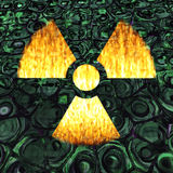 Radioactivity Stock Image