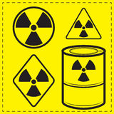 Radioactivity Royalty Free Stock Photography