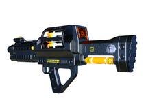 Radioactivity gun Stock Photo
