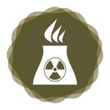 Radioactivity icon Royalty Free Stock Photos