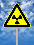 Radioactivity sign Stock Photos