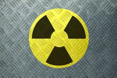 Radioactivity Sign Stock Photography