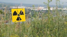 Radioactivity Sign stock video