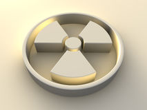Radioactivity Symbol Stock Photography