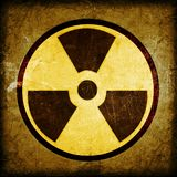 Radioactivity symbol royalty free illustration