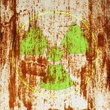 radioactivitysymbolvarning Royaltyfria Bilder