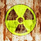 radioactivitysymbolvarning vektor illustrationer