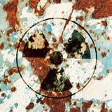 radioactivitysymbolvarning arkivbild