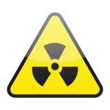 radioaktiv teckenvektor Royaltyfri Bild