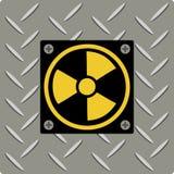 Radioaktives Symbol Lizenzfreies Stockfoto