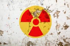 Radioaktivitäts-Zeichen Lizenzfreies Stockbild