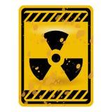Radioaktivitätszeichen stock abbildung