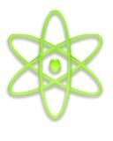 radioaktivt vektor illustrationer