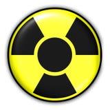 radioaktivt tecken Royaltyfria Bilder