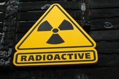 radioaktywny znak obraz royalty free