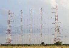 Radioantennennetz Lizenzfreie Stockbilder
