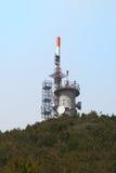 Radioantennes Stock Afbeelding