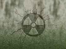 Radioativo ilustração royalty free