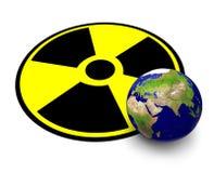 Radioattività Illustrazione di Stock