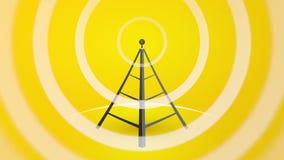 Radioübermittler stock footage