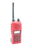 Radiocomunicación roja Imagen de archivo libre de regalías