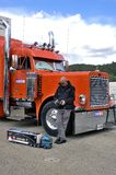 Radiocontrolled truck Royalty Free Stock Photos