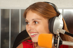 Radiodiffusion images stock