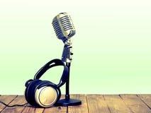 Radiodiffusion par radio photo stock