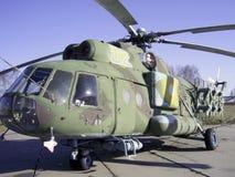 Radiodirektör för helikopter Mi-8 Fotografering för Bildbyråer