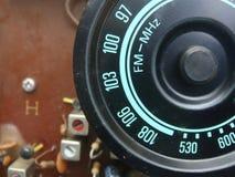 Radiofrekvensskärmen arkivbild