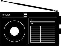 Radiogerätikone Stockfoto