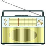 Radiogerät Lizenzfreies Stockfoto