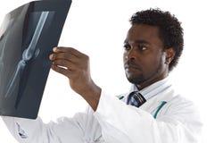 Radiografía de la pizca del doctor Fotos de archivo libres de regalías