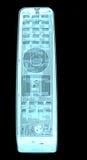 Radiografía del control remoto de la TV Imagen de archivo