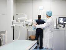 Radiografía examing Fotografía de archivo libre de regalías