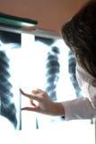 Radiografie Royalty-vrije Stock Afbeeldingen