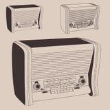 Radiogramophone Foto de Stock Royalty Free