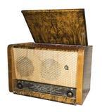 Radiogramophone (radio med spelaren) 1953 Ryssland Royaltyfri Fotografi