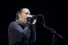 Radiohead in tensione Fotografia Stock