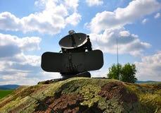 radiolocator坦克 免版税库存图片