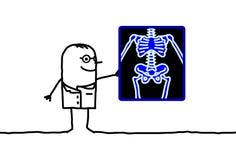 Radiología Foto de archivo libre de regalías