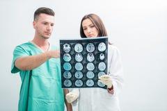 Radiologia, operacja, ludzie i medycyny pojęcie, - kobiet lekarki Fotografia Stock