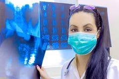Radiologia - pole medycyna Obrazy Royalty Free