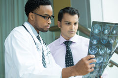 Radiologic results royalty free stock image
