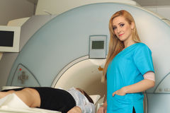 Radiologic technician  Stock Photography