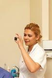 Radiologiczny dentysta fotografia royalty free