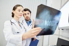 Radiologiczny wizerunek Obraz Stock