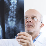Radiologist at work Stock Photos