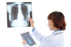 radiologo Fotografie Stock Libere da Diritti